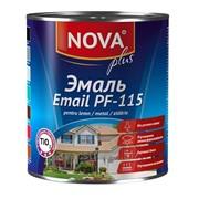 Эмаль Nova ПФ-115 красно-кор.0,8 кг Артикул 27.61 фото