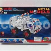 Конструктор металлический 194 детали фото