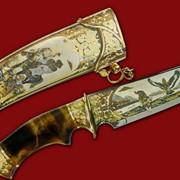 Нож Восточная охота 357*215*45*4 фото