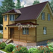Дом из профилированного бруса 8,5х9 - Домодедовский фото