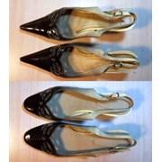 Исправление формы носка обуви. фото