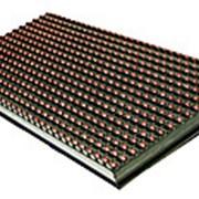 Монохромный светодиодный модуль красный фото