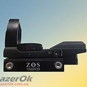 Коллиматорный прицел Коллиматорный прицел ZOS 1х22х33 под планку 11мм фото