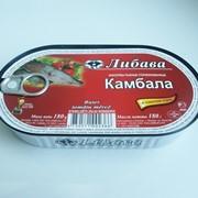 Филе камбалы в томатном соусе