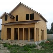 Канадский коттедж. Панельно-каркасное домостроение. Дома панельные быстросборные фото