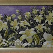 "Картина ""Белые лилии"" 40х57 фото"
