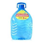 Дистиллированная вода 6 л фото