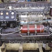 Двигатель дизельный судовой марки Д6 фото