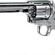 Револьвер пневматический Umarex Colt Single Action Army 45 nickel finish 4,5 мм фото
