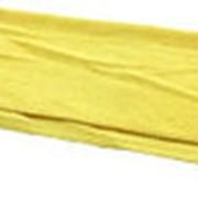 Салфетка из микрофибры полировочная жёлтая фото