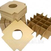 Решетки из картона для транспортировки хрупких и бьющихся изделий фото