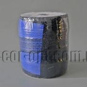 Тесьма кружевная двойная сине-черная 4,5см/300ярд 7072 фото