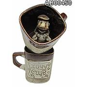 Чашка-прикол Квадратная в ассортименте фото