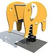 Качель пружинка слоник фото