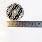 Z694.117 Решетка №1 для мясорубки Lentel HAT-9903 (Д-53/8мм, раб. отв.3мм, сталь)-н.н фото
