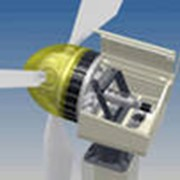 Ветроэлектрический комплекс фото