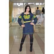 Платье вышиванка из льна 50 фото