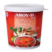 Красная паста Карри Aroy-D, 400 гр. фото
