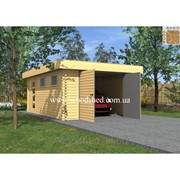 Деревянный гараж Ждан фото