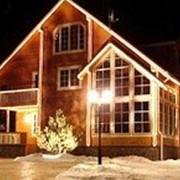 Декоративно-художественное освещение фасадов фото