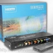 Конвертер преобразователь сигнала VGA, YPbPr в HDMI фото