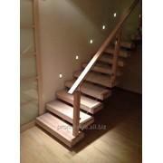 Виготовлення сходів із дерева фото