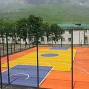 бесшовные спортивные покрытия, искусственная трава фото