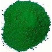 Пигмент зеленый 835 марка ( не выгорает) фото