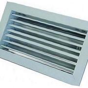 Решетка вентиляционная алюминиевая РАГ 100х700 фото