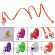 Уплотненный USB кабель для iPhone5 180-17877 фото