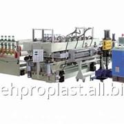 Экструзионная линия по производству сотовых листов из ПК, ПП, ПЭ фото