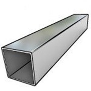 Труба стальная прямоугольная 40х20х2 (МД, 6 000, ГОСТ 8645-68, Ст3сп5, 1,7) фото