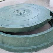 Люк канализационный полимерно-композитный на 3т фото