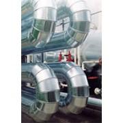 Монтаж теплоизоляции трубопроводов и емкостей. фото