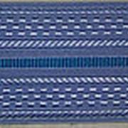 Погоны голубые с одним голубым просветом (основа: ПЛАСТИК) фото