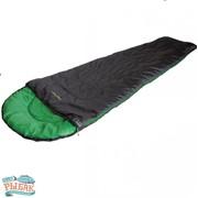 Спальный мешок High Peak Easy Travel / +5°C (Right) Black/green фото