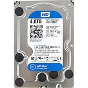 Жесткий диск HDD WD SATA3 4Tb Blue 5400 RPM 64Mb (WD40EZRZ) фото