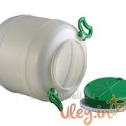 Бидон пищевой пластмассовый, 50 л. Горловина 220 мм. (сертифицированные) фото
