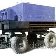 Машина для подогрева, перемешивания и транспортирования мастик на кровлю СО100 А фото