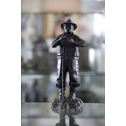 Чугунная статуэтка Рыбак фото