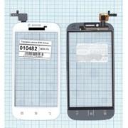 Сенсорное стекло (тачскрин) для Lenovo A706 белый, Диагональ 4.5 фото