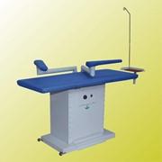 Стол гладильный прямоугольный с электронагреваемой поверхностью, вытяжкой, рукавом (Модель ТR/L) фото
