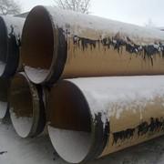 Изоляция трубы ВУС,ППУ,ЦПИ,Битумо-полимерная. фото