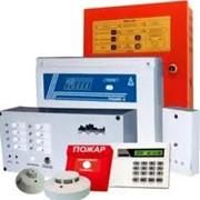 Автоматические установки пожарной и охранно-пожарной сигнализации фото
