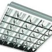 Светильник люминесцентный ЛВО 4*18W фото