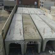 Лоток теплотрасс, железобетонный Серия 3.006.1-8, ЛК 300.60.90 фото