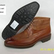 Итальянская мужская обувь ручной работы. фото