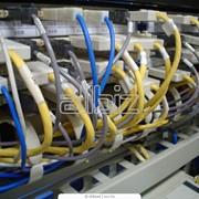Установка оптоволоконного оборудования локальных вычислительных сетей фото