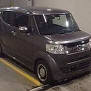 Хэтчбек турбо HONDA N BOX SLASH кузов JF1 модификация G Turbo A Package гв 2015 пробег 32 тыс км цвет серый фото
