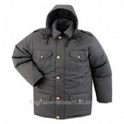 Форменная куртка теплая фото